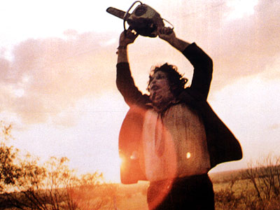 Leatherface in The Texas Chainsaw Massacre (1974)