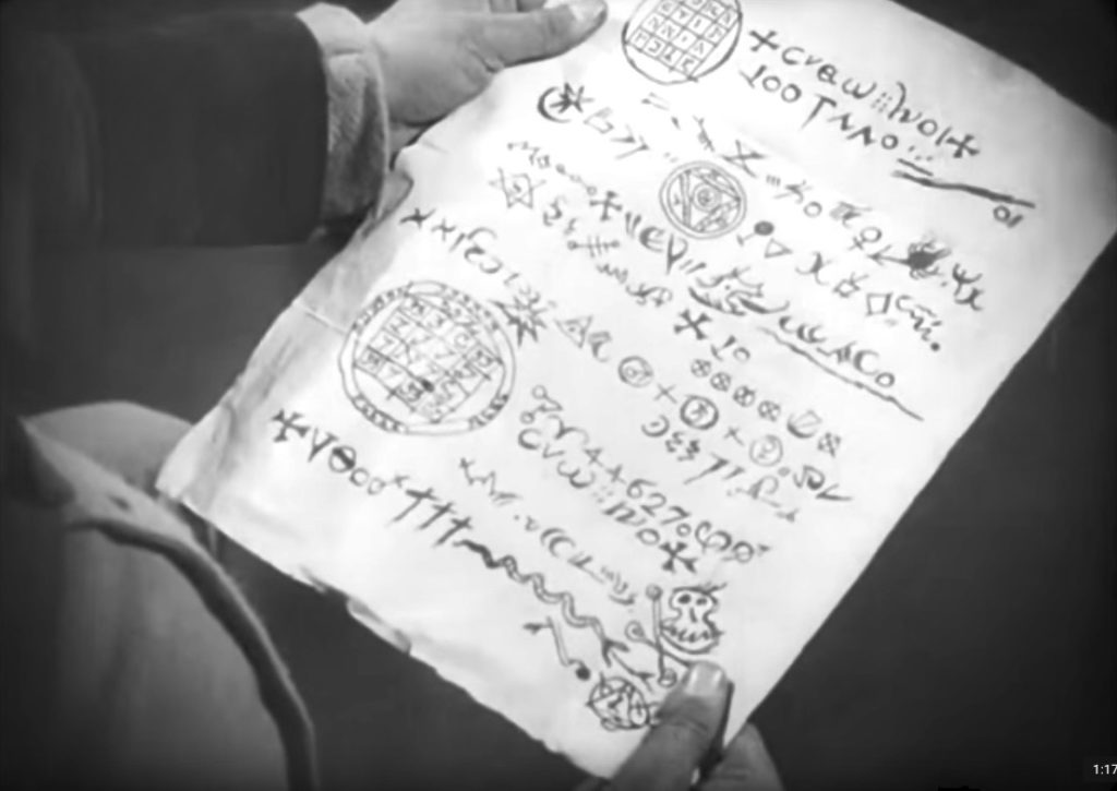 Knock reads a letter from Count Orlok, Nosferatu 1922