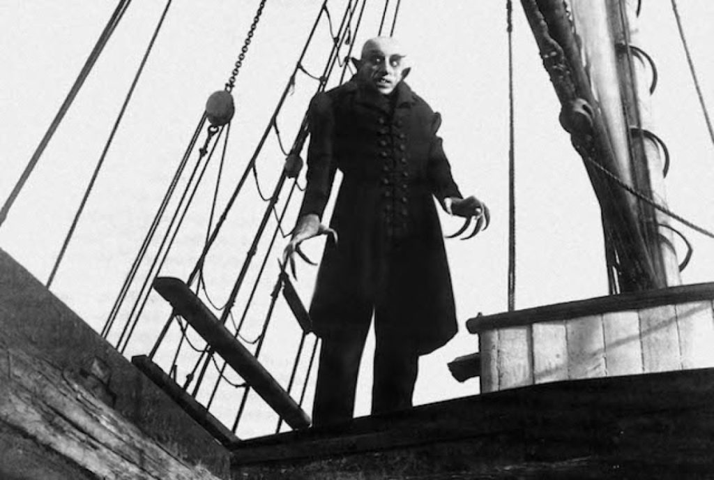 Max Shreck in Nosferatu (1922)