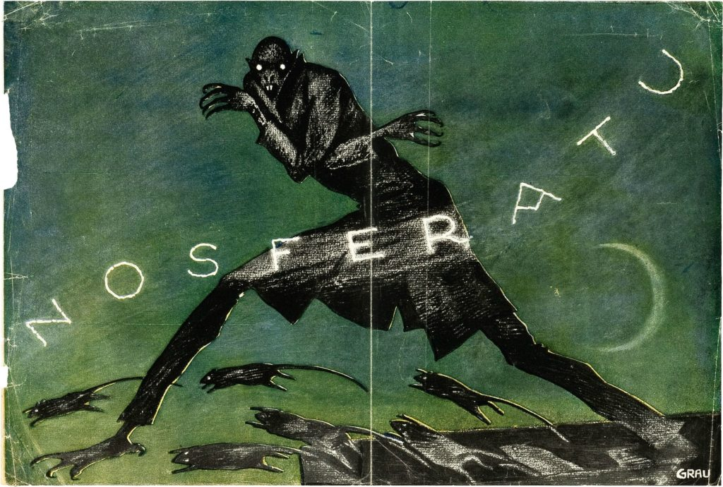 Albin Grau design for Nosferatu