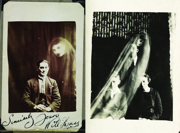 19th century spirit photography, where the techniques used in early horror movies originated