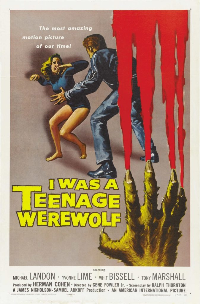 I Was A Teenage Werewolf (1957)