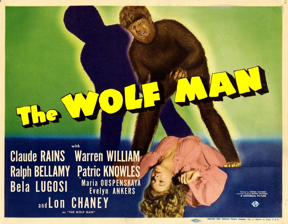 The Wolf Man 1941 Lon Chaney