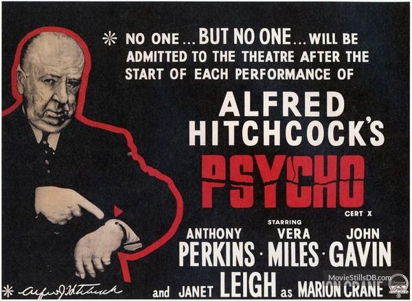 Psycho Lobby Card