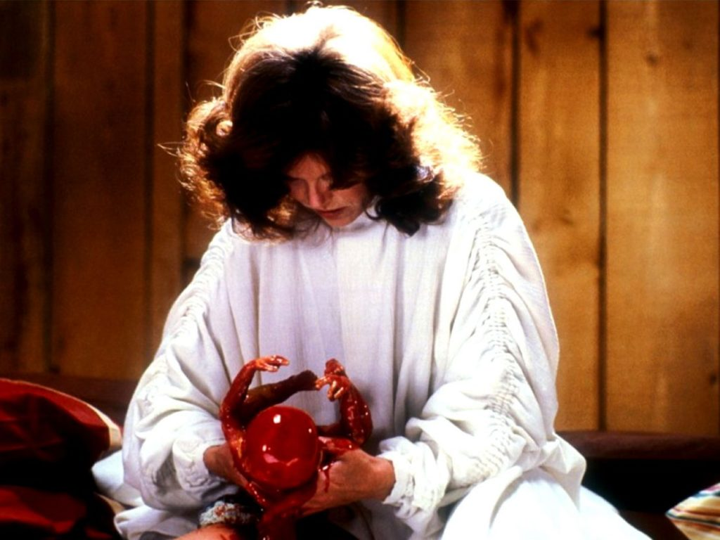 Samantha Eggar as Nola Carveth in The Brood (1979)
