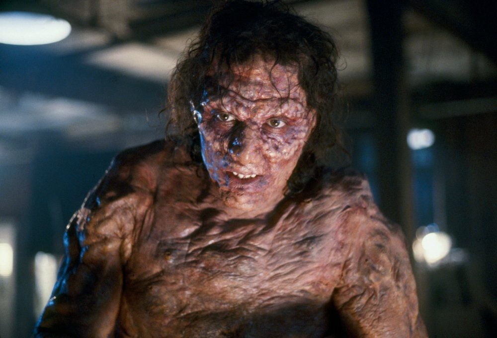 Seth Brundle (Jeff Goldblum) in The Fly (1986), 1980s horror movies