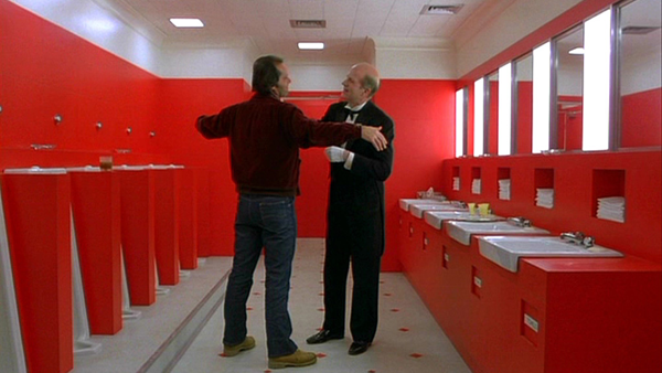 The Men's Room at the Overlook Hotel (The Shining, 1980)