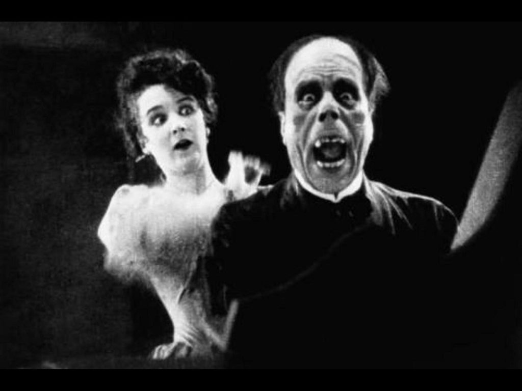 The Phantom of The Opera (1925), 1920s silent horror movie