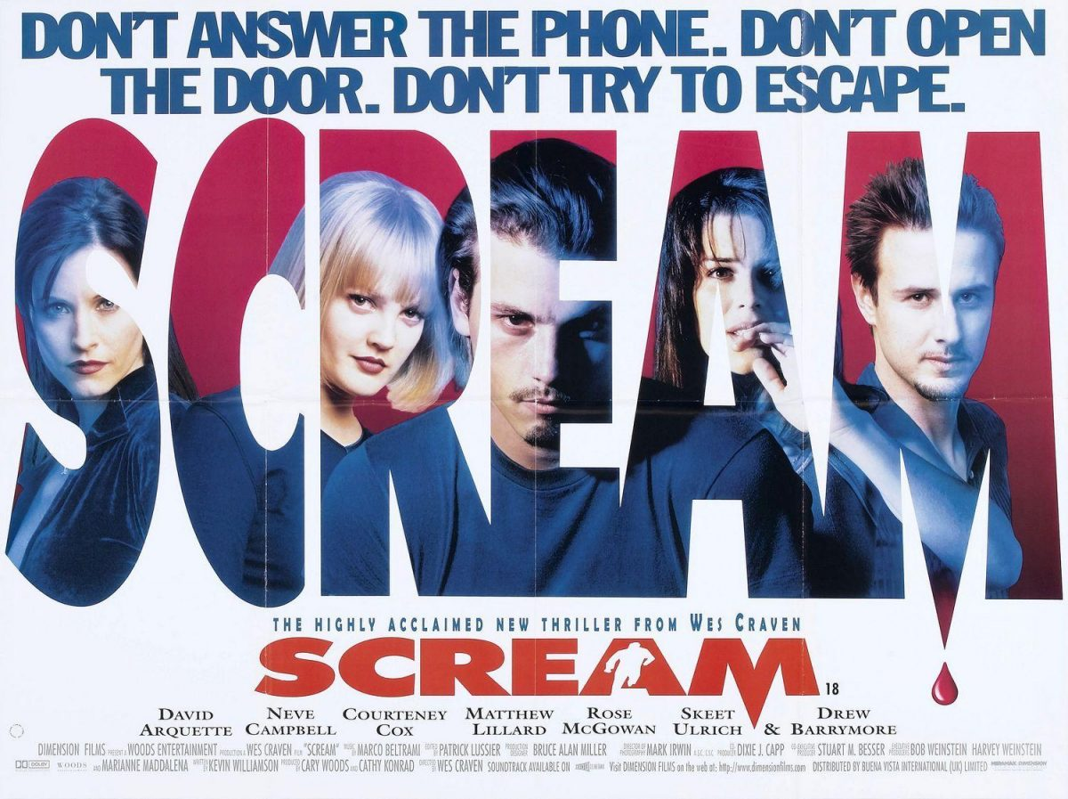 Scream (1996), 1990s horror movies